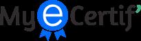 MyEcertif – Qualiopi – Formation de préparation a la certification du référentiel QUALIOPI Logo