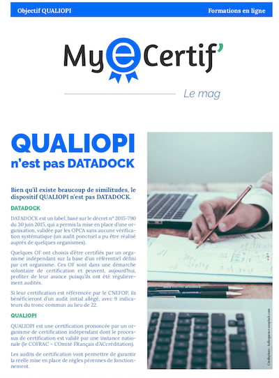 MyEcertif ebook2 qualiopi vs datadock mini